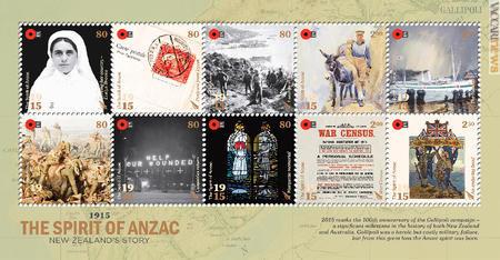 Datazione francobolli australiani